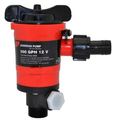 Johnson Pumps Twin Port 550 GPH Cartridge Liv …