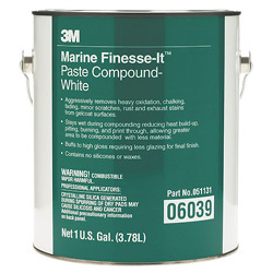 Finesse It Marine Paste Compound-White Gallon …