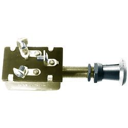 Push-Pull Switch, 3 Position, Chrome Plated - …
