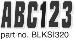Boat Registration Decals Series 320 Kit, 328- …