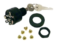 Ignition Switch, OFF-RUN-START, 5 Screw Tab,  …