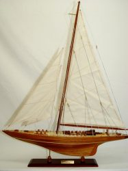 Endeavour Yacht 1934 Model Ship Small - Old M …