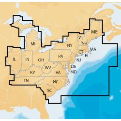 Navionics Navionics+ Regions - East - Preload …