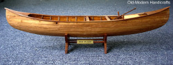 Indian Girl Canoe Model - Old Modern Handicra …