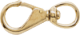 "Polished Brass Swivel Eye Snap, 4-1/2"" - …"