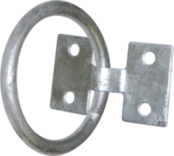 "2""x1/4"" Galvanized Mooring Ring - S …"