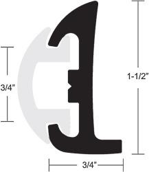 """Taco Semi-Rigid Rub Rail Kit 1-1/2"""" x 50 …"""