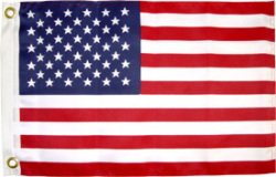 "U.S. Boat Flag, 12""x18"" - Seasense"