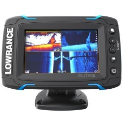 Lowrance Elite-5 Ti Touch Combo - Med/High/45 …