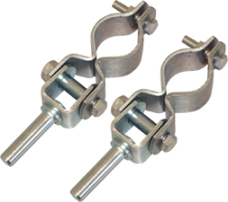 Clamp On Oarlocks, Pair - Seasense
