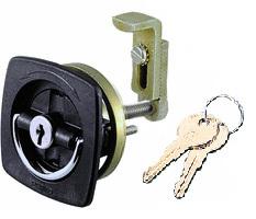 Improved Adjustable Cam Flush Lock 0931DP2BLK …