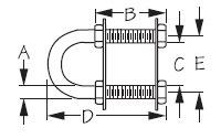 Stainless Steel Bow Eye 80085 SeaDog Line