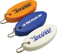 Brass Key Chain Foam Key Float - Seasense