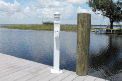 """36"""" Water/Electric Pedestal with Light"""