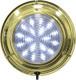 "LED Brass Dome Boat Light, 5-1/2"", White …"
