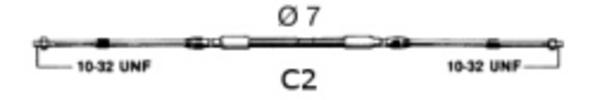 C2 Control Cable, 12' - Uflex