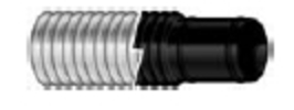 1 1/8 X 6 Black Bilgeflex Dp - Shields