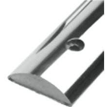 "Taco Rub Rail 1/2"" Solid Back Stainless  …"