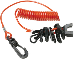 emergency boat kill switches lanyards com 7 key kill switch lanyard universal seacho