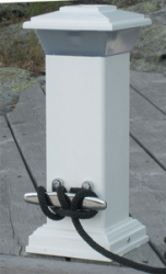 Solar Dock Light with Stainless Steel Mooring …