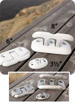 "Dock Cleat, Flip Up Ring, 3"" - Dock  …"