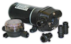 Quad Series Bilge Pump, 300 GPH - Flojet