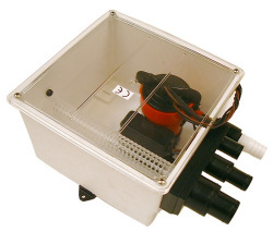 Johnson Ultima Multi Port Shower Sump, 12V -  …
