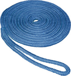 "1/2""x15'  Double Braid Nylon Dock Li …"
