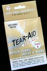 Tear-Aid Repair Patches Repair Kit, Type A