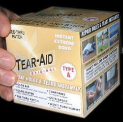Tear-Aid Boxed Repair Tape Roll, Type A