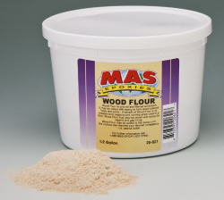 Wood Flour Filler, Quart - Mas Epoxies