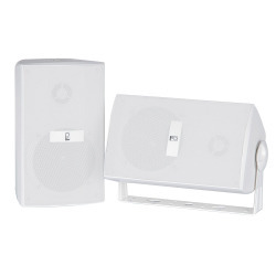 "Poly-Planar MA3030W 4"" Box Speakers - Wh …"