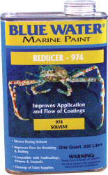 Reducer 974, Qt - Blue Water Marine Paint