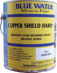 Copper Shield Hard, Royal Blue, Quart, 35 Cop …