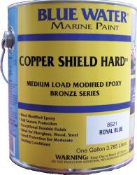 Copper Shield Hard, Royal Blue, Gallon, 35 Co …