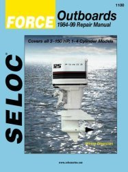 Force Outboards 3-150HP 1984-1999 Repair Manu …