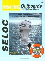Johnson Evinrude Outboards 65-300HP 1992-2001 …
