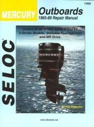 Mercury Outboard ONLY, 90-300HP 1965-1989 Rep …