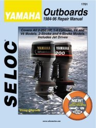 Yamaha Outboards 2-250HP 1984-1996 Repair Man …
