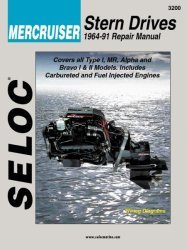 Mercruiser Stern Drives 1964-1991 Repair Manu …