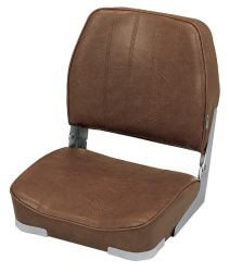 Promotional Low Back Folding Boat Seat, Brown …