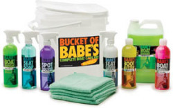 Bucket of Babe's Complete Boat Care Packa …