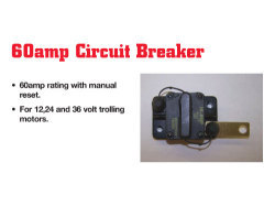 Circuit Breaker, 60Amp, Manual - Rig Rite
