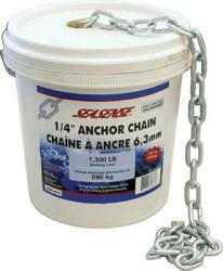 """1/4""""x70' Galvanized Bulk Anchor Chai …"""