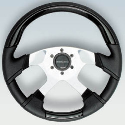 Lavezzi Steering Wheel w/ Black Inserts - Ufl …