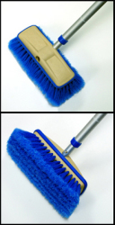 "8"" Deluxe Block Wash Brush with Bumper,  …"