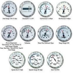 Speedometer, 80MPH  - SeaStar Solutions