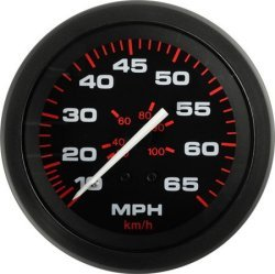 Speedometer, 80MPH  - SeaStar Solutions