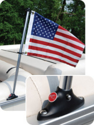 "Taylor Made 24"" Pontoon Flag Pole Socket …"