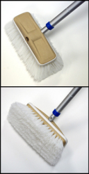 "8"" Deluxe Block Scrub Brush with Bumper, …"
